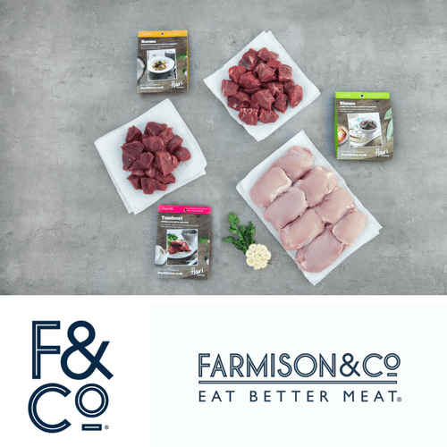 Meat Boxes From Farmison & Co - Homepage slider image
