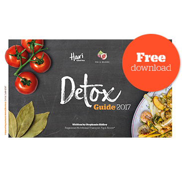 Detox Guide - Eat Well in 2017