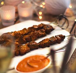 Lamb Boti Kebabs