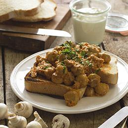 Creamy Mushroom Curry