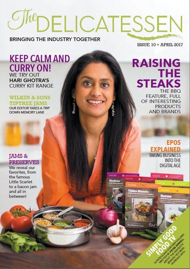 Delicatessen Magazine - Front Cover