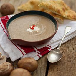 Garlic and Mushroom Shorba