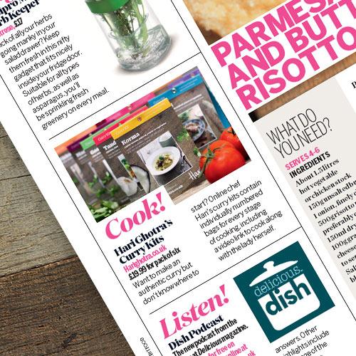 My curry kits in Heat Magazine