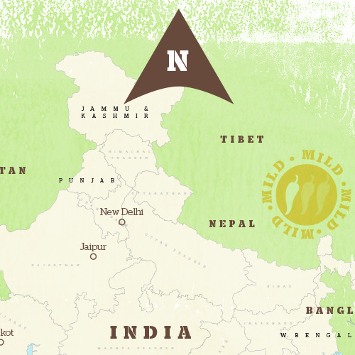 Interactive Indian Food Map
