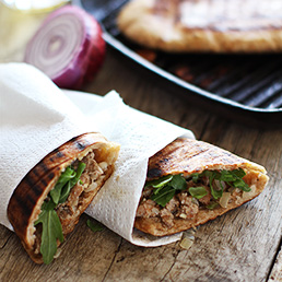 Lamb Pitta Toastie