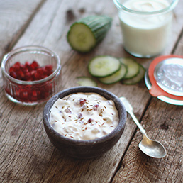 Pomegranate Raita