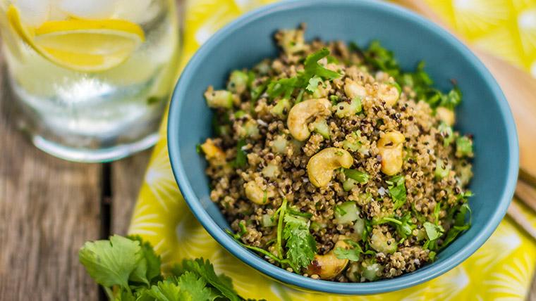 Quinoa Kosumbari