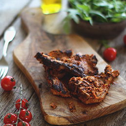 Spicy Lamb Chops