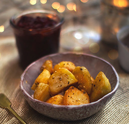 Roasties with a Sesame Crunch