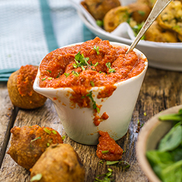 Roasted Red Pepper and Tomato Chutney