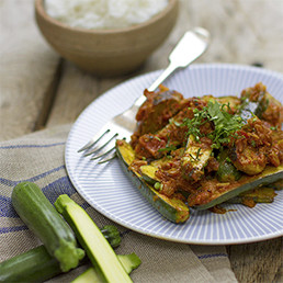 Sausage and Courgette Curry