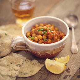 Indian Recipes with Chickpeas