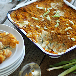 Spiced Fish Pie