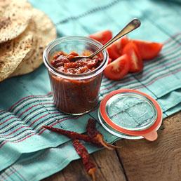 Spiced Tomato Chutney