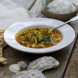 Coastal Squid Curry