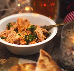 Tandoori Turkey Sandwich Filling