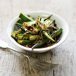 Tangy Fried Okra
