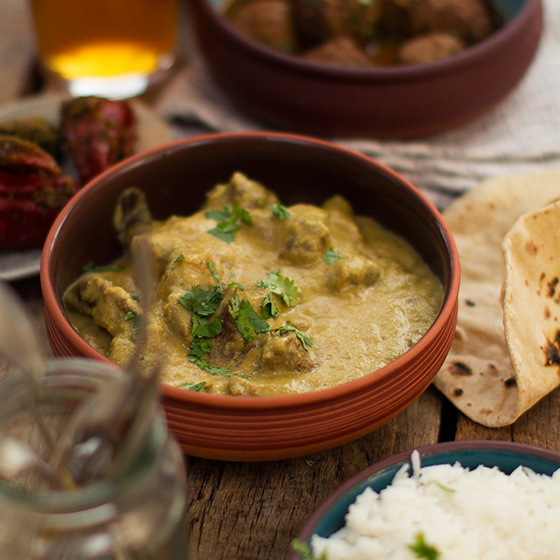 White Goat Curry
