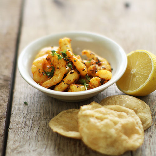 dry spiced prawns blog