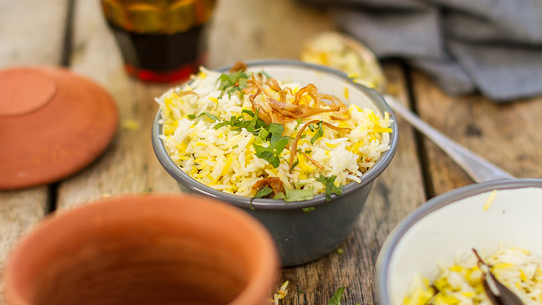 Vegetable Biryani Hari Ghotra