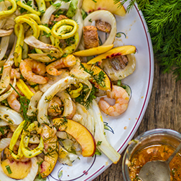 Fennel and Seafood Salad