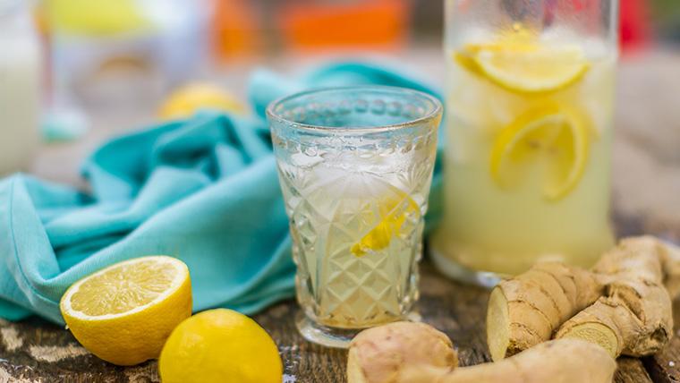 Ginger Spiced Lemonade