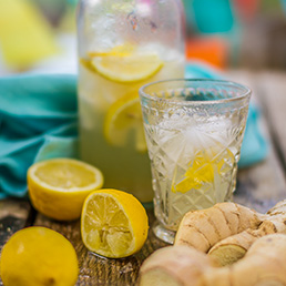 Ginger Spiced Lemonade