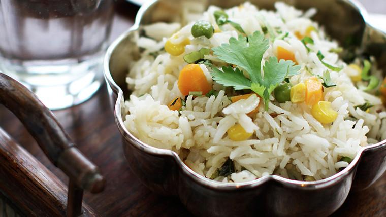 Vegetable Pilau